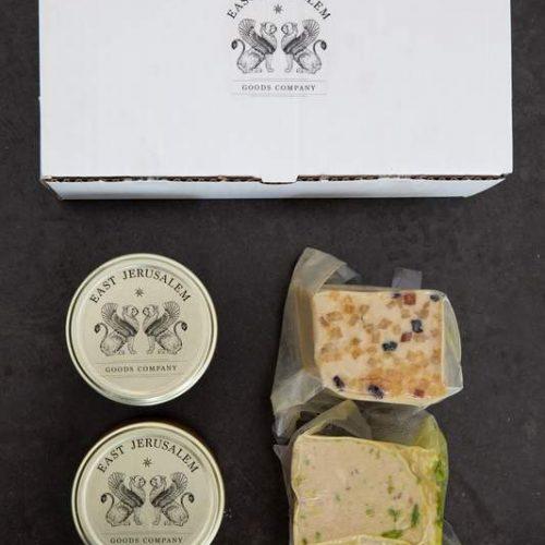 gourmet halva blocks and tahini sauce free shipping